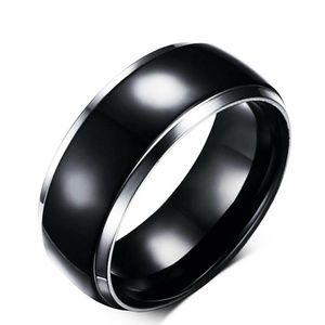 Mens/Womens Titanium Ring Black
